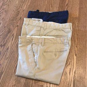 Gap boys size 16 husky pants bundle